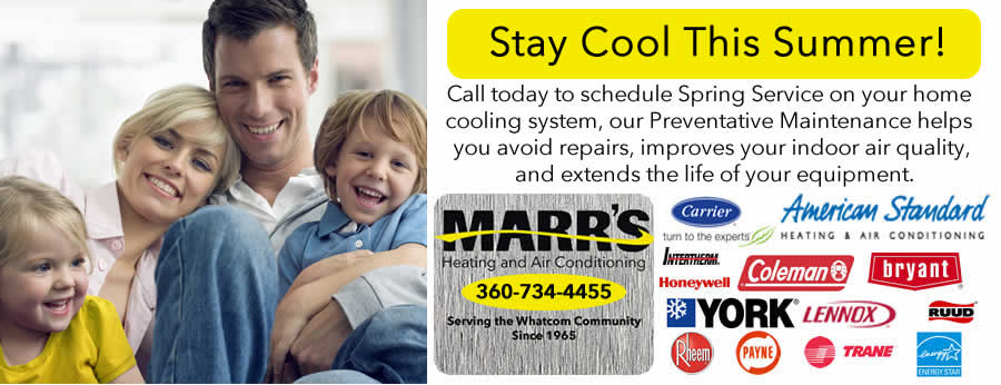 Spring Service Special - Marr's Heating & Air Conditioning