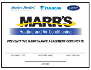 Preventative Maintenance Agreements